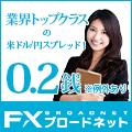 「FXブロードネット限定タイアップキャンペーン」