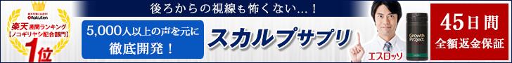 育毛剤愛用者の人気No.1サプリ