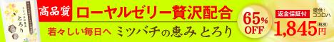 ローヤルゼリー&プロポリス 【ミツバチの恵み とろり】