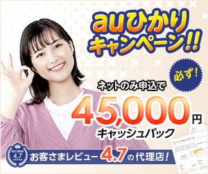 auひかり(株式会社NNコミュニケーションズ)